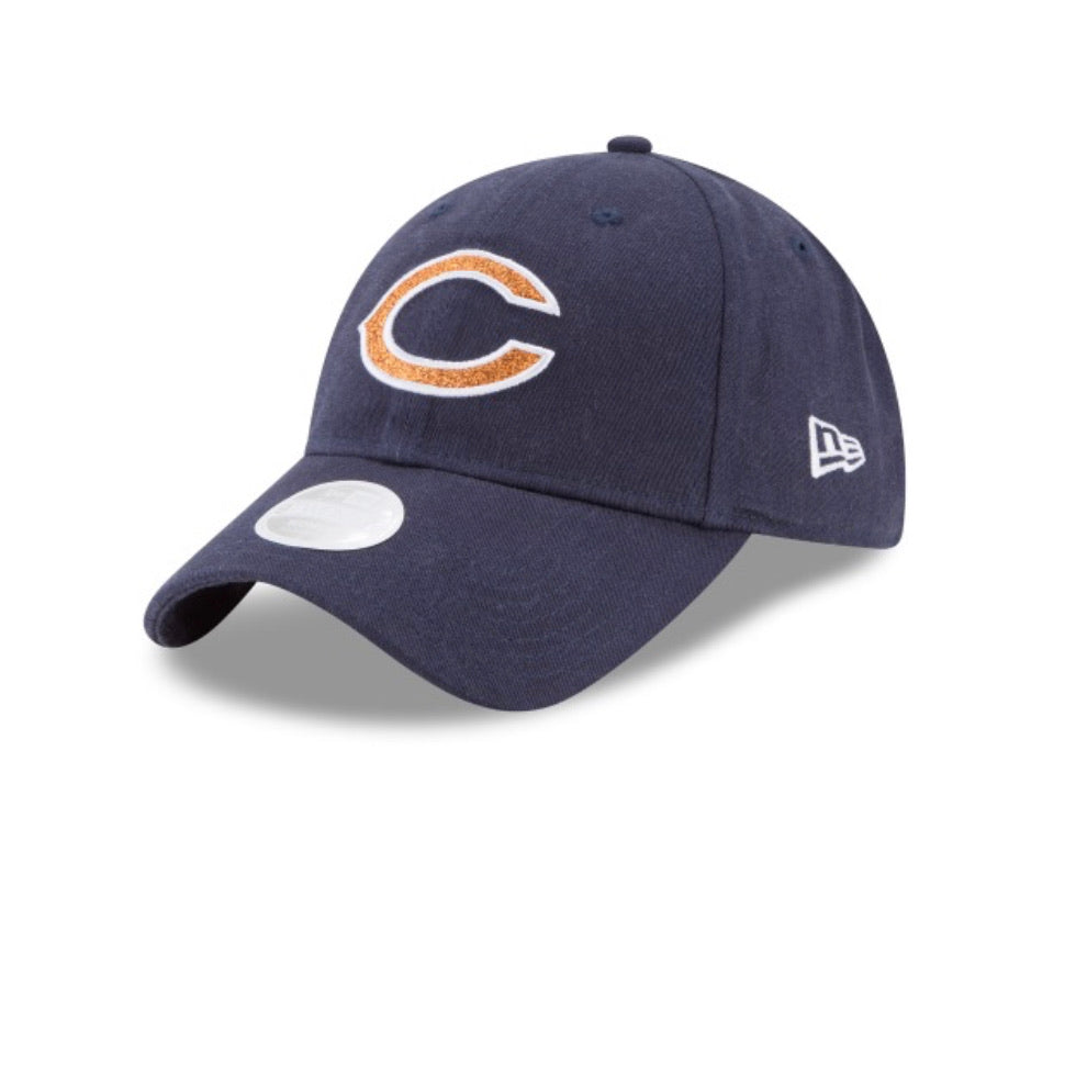 Chicago Bear New Era Team Glisten Hat
