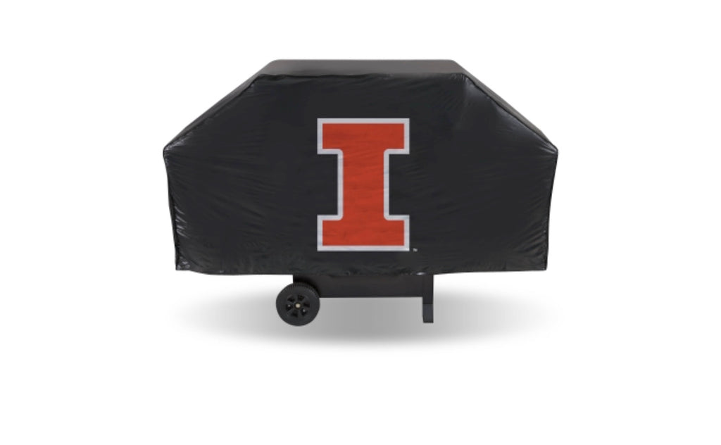 Illinois Economy Grill Cover  (Black) - AtlanticCoastSports