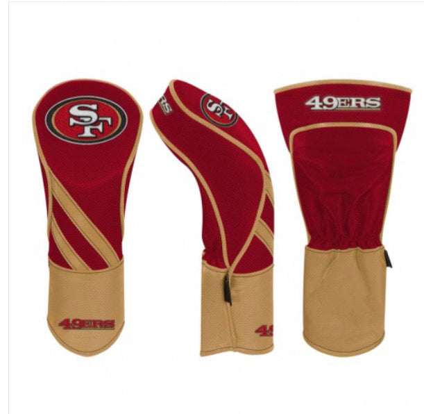 San Francisco 49ers Golf Driver Headcover