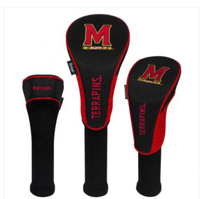 Maryland Terrapins 3 Set Golf Headcover