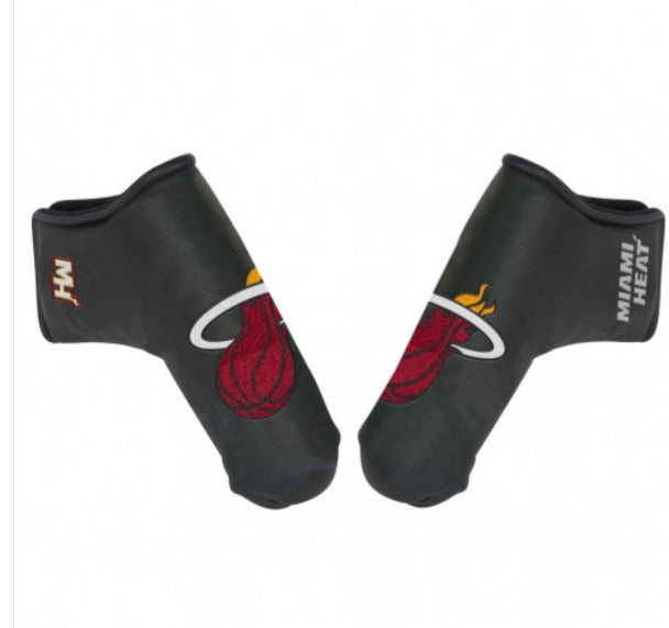 Miami Heat Golf Putter Blade Head Cover