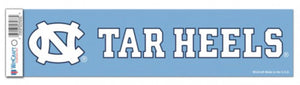 "NORTH CAROLINA, UNIVERSITY OF BUMPER STRIP 3"" X 12"" - AtlanticCoastSports"