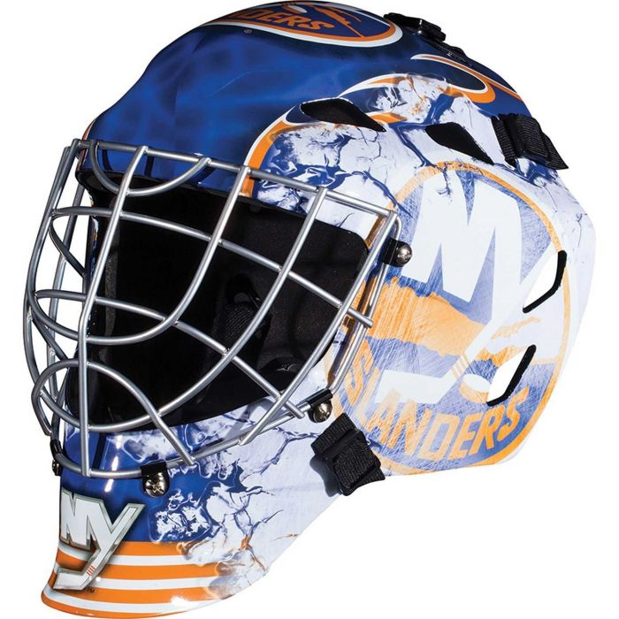 New York Islanders Franklin GFM 1500: NHL® Team Goalie  Helmet