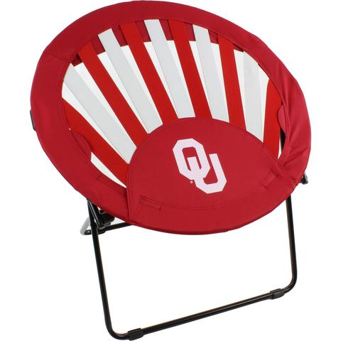 Oklahoma Sooners Rising Sun Chair