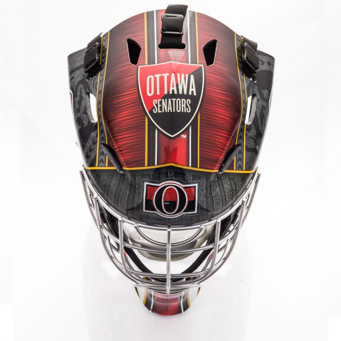 Ottawa Senators  Franklin GFM 1500: NHL® Team Goalie  Helmet
