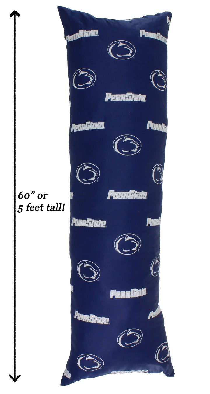 NCAA Penn State Nittany Lions Printed Body Pillow