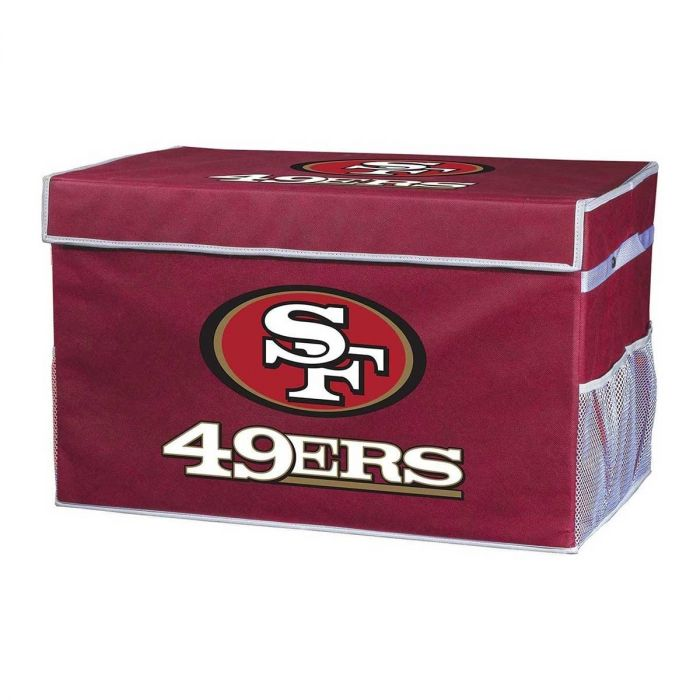 San Francisco 49ers Storage Footlocker Bins