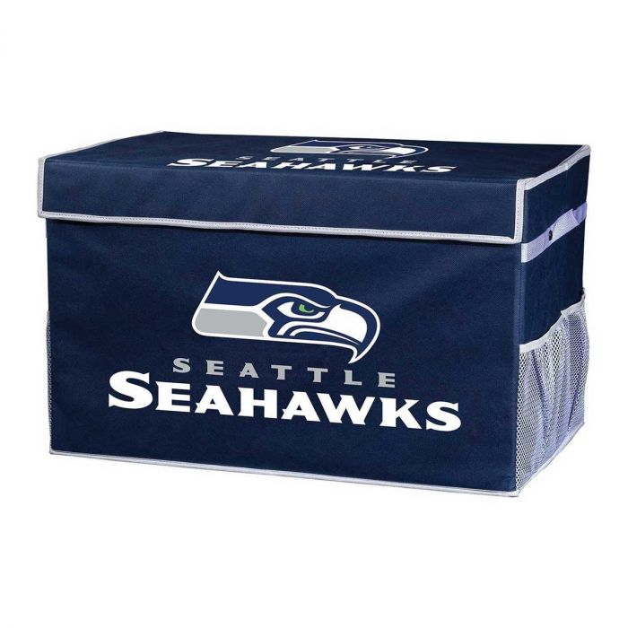 Seattle Seahawks Storage Footlocker Bins