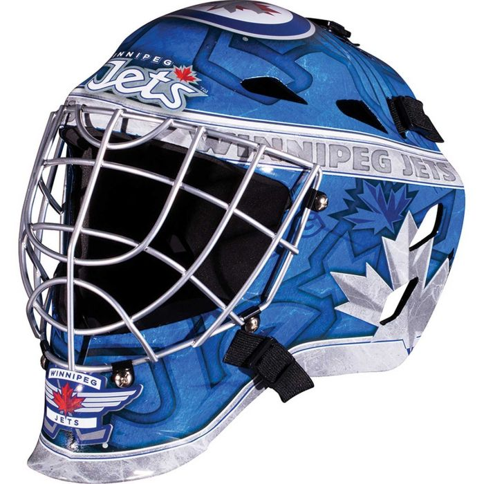 Winnipeg Jets Franklin GFM 1500: NHL® Team Goalie  Helmet