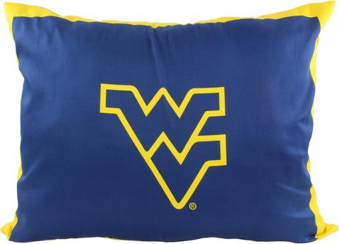 NCAA West Virginia Mountaineers Fully Stuffed Big Logo Pillow