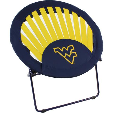 West Virginia Mountaineers Rising Sun Chair