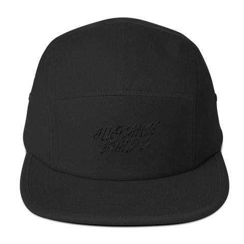 Allegiance Brand Five Panel Cap Black