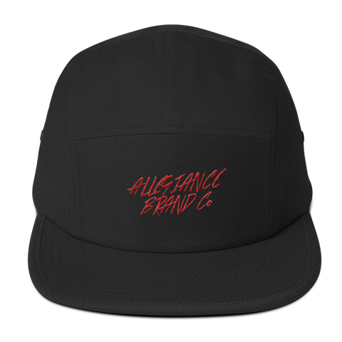 Allegiance Brand Five Panel Cap                                                                                        Red