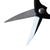 "Kiku Silver 8"" Bonsai Root Scissor, Black Alloy Steel"