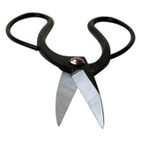 "Kiku Classic 8"" Bonsai Root Scissor, Black Steel"