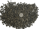 "7mm - Medium - Unwashed - 1/4"" - 1/2"" / 13L (3.43 Gallons) Black Lava - Bonsai Soil Substrate"