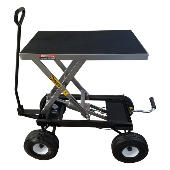 PT Hydrowagon Hydrolift Bonsai Hydro Cart & Hydraulic Pull Wagon by Potted Tree Gadgetry