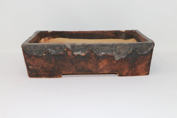 European Handmade Bonsai Pot by Czerniachowsky - Rectangle - 11.75