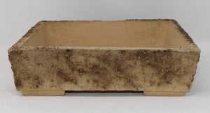 "European Hand Made Bonsai Pot by Czerniachowsky - Square - 9.5"" x 2.5"""