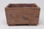 "Ross Adams Unglazed Heavy Rectangle Bonsai Pot - 7.25"" x 6.5"" x 4.5"""