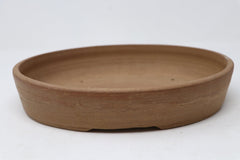 Sam Miller Unglazed Oval Bonsai Pot - 11.25