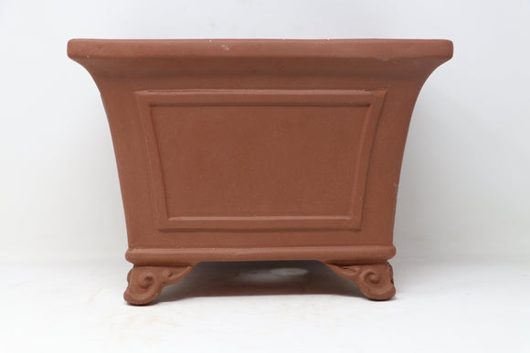 Cascade Unglazed Chinese Production Bonsai Pot - 11.5