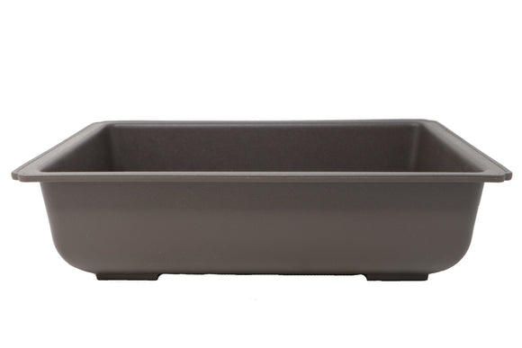 Rectangle Shallow Plastic Bonsai Training Pots