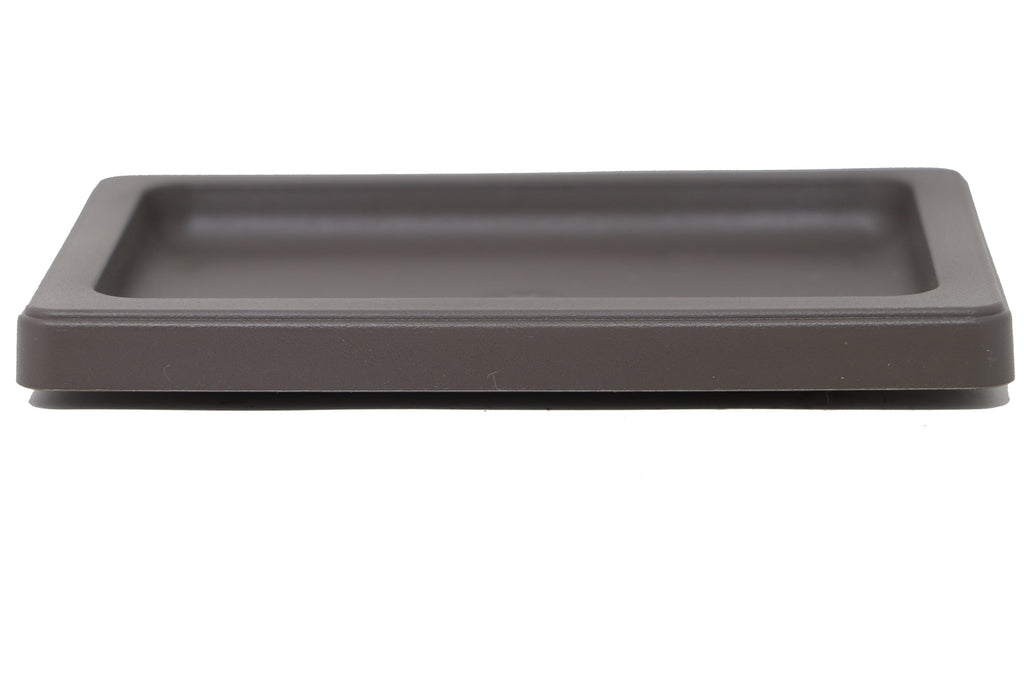 Rectangle Drip & Humidity Tray - Brown Plastic