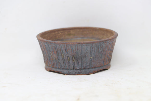 MC² Round Bonsai Pot - Glazed - 3.25