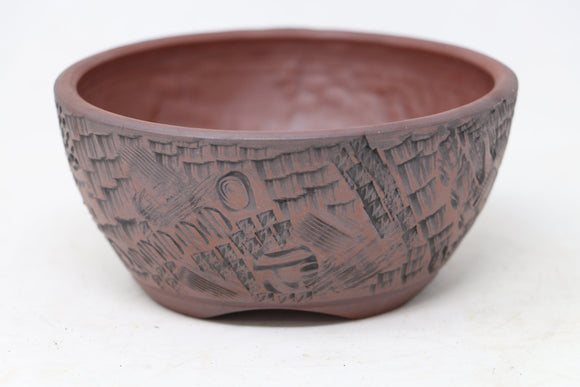 Lynn August Round Bonsai Pot - 5.25