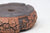 "Bob Pruski Brown Round Bonsai Pot - Textured - 7"" x 7"" x 2.5"""