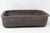 "Bob Pruski Brown Rectangle Bonsai Pot - Glazed- 11.75"" x 8.75"" x 3"""