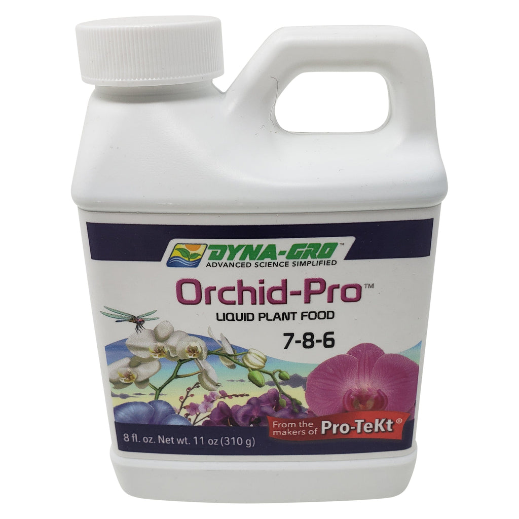 8 Ounces Dyna-Gro Orchid-Pro 7-8-6 - Liquid Orchid Fertilizer