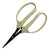 "6"" Japanese ARS Bonsai Garden Scissor - White Plastic Handle"