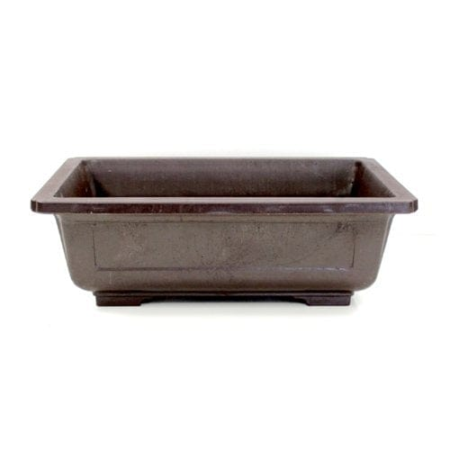 REB-10 Rectangle Mica Bonsai Training Pot - REB Series