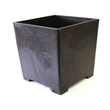 CAA-12 Square Cascade Mica Bonsai Pot - CAA & CAB Series