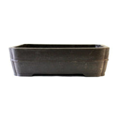 Rectangle Mica Bonsai Pot - RED Series
