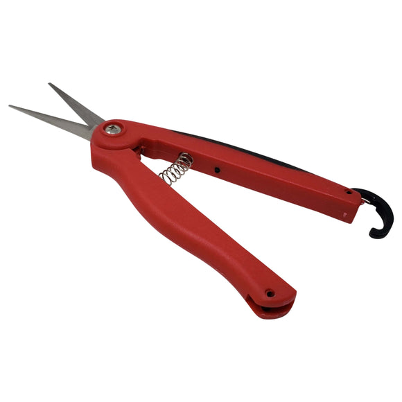 Precision Bonsai Pruning Needle Nose Scissor With Spring
