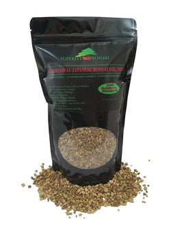 Traditional Japanese Bonsai Soil Mix - Premium Blend