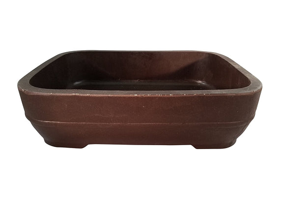 REE-10 Rounded Rectangle Mica Bonsai Pot - REE Series