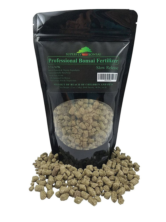 12 Ounce 5-7-4 Slow Release Natural Based Bonsai Fertilizer Pellets