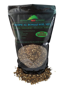 Tropical Bonsai Soil Mix - Premium Blend
