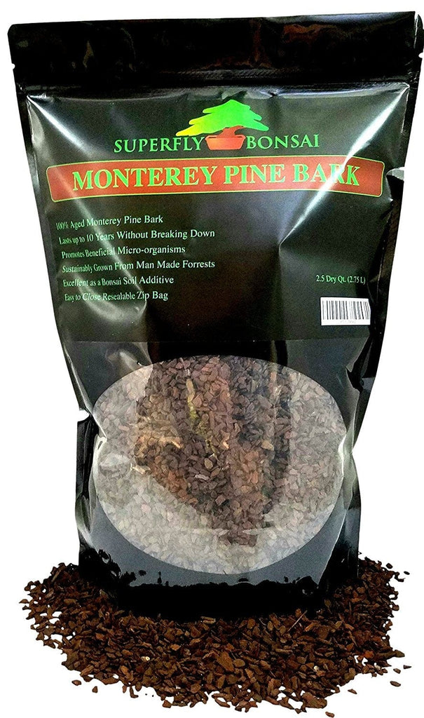 2.5 Quart Bonsai Soil Pine Bark