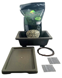 Default Title Premium Rectangle Mica Bonsai Repotting Kit