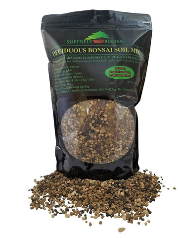Deciduous Professional Bonsai Soil Mix - Premium Blend