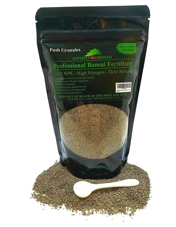 Slow Release Natural Based Bonsai Fertilizer Granules - With Scoop