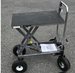 PT HydroCart - Big Wheel Bonsai Hydrolift Hydro Hydraulic Cart - Push Cart by Potted Tree Gadgetry