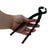 "KIKU Gold 11"" Bonsai Root Cutter - Black Stainless Steel - Bonsai Dream Series"