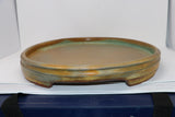 "Ron Lang Huge Suiseki Suiban Pot Tray - 24.5"" x 18.75"" x 2.75"""