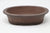 "Unglazed Small Oval Bonsai Pot - 6.25"" x 5"" x 1.75"""
